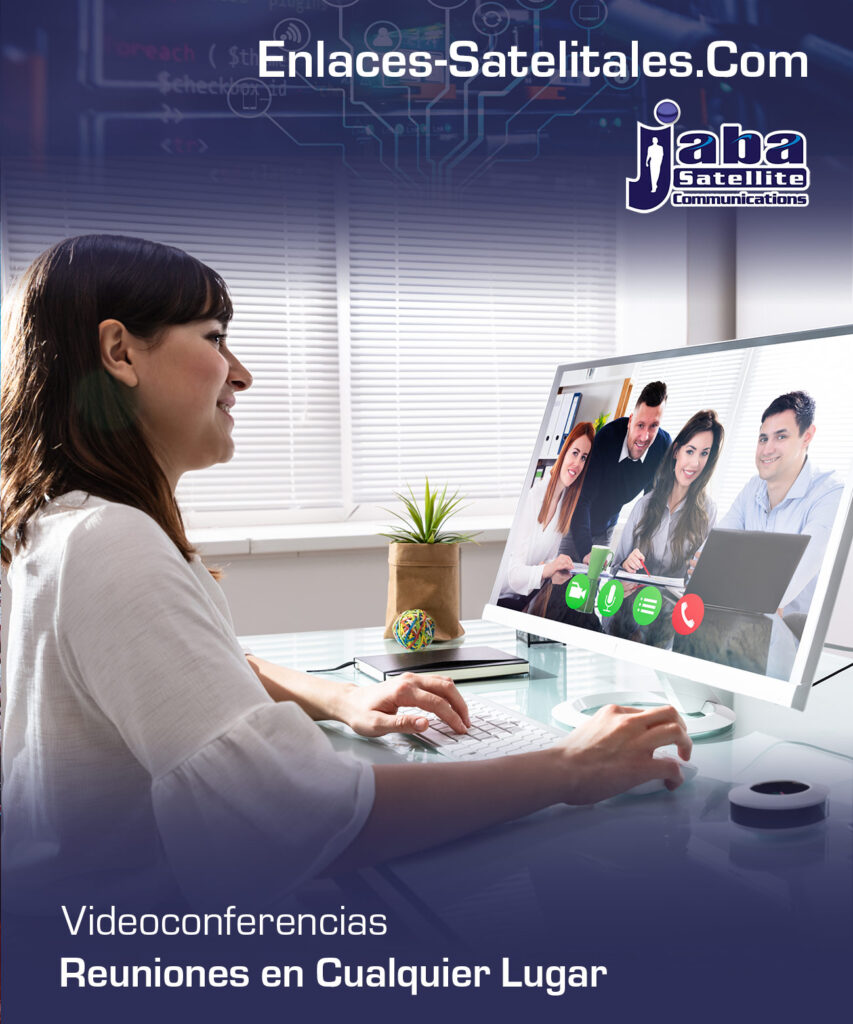 jabasat videoconferencias enlaces Satelitales